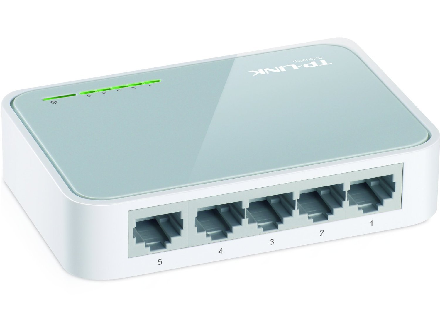 TP-Link 5-Port Fast Ethernet Desktop Switch (TL-SF1005D)