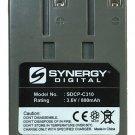 Synergy Digital SDCP-C310 - Ni-CD, 3.6 Volt, 800 mAh, Ultra Hi-Capacity Battery