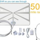 FreeAir.tv HDTV Indoor Antenna (OTA / Dual Band / VHF / UHF / Multi-directional / USB Power Supply