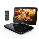 "DBPOWER 10.5"" Portable DVD Player with Swivel Screen, 3 Hours Rechargeable Battery"
