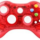 Kycola GC21 Dual Vibration Wireless Gamepad Controller Transparent With LED