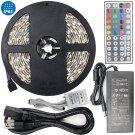 TORCHSTAR 16.4ft RGB Multi-Color Flexible Waterproof(IP-65) Strip Light Kit, 300 LEDs