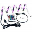 TedGem USB LED Light Strip with Velcro tape, TV Backlighting