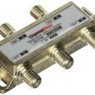 ChannelPlus Linear 2514 ChannelPlus DC & IR Passing 4-Way Splitter/Combiner