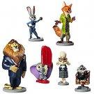 Disney Zootopia Exclusive 6 Figure Character Play Set