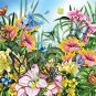 SunsOut Butterflies in the Garden 200 pc Jigsaw Puzzle