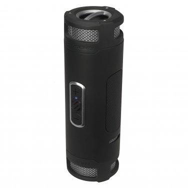 SCOSCHE boomBOTTLE+ Rugged Waterproof Wireless Bluetooth Speaker (Black/Space Gray)