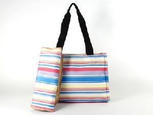 Stripe Martha Rainbow Diaperbag