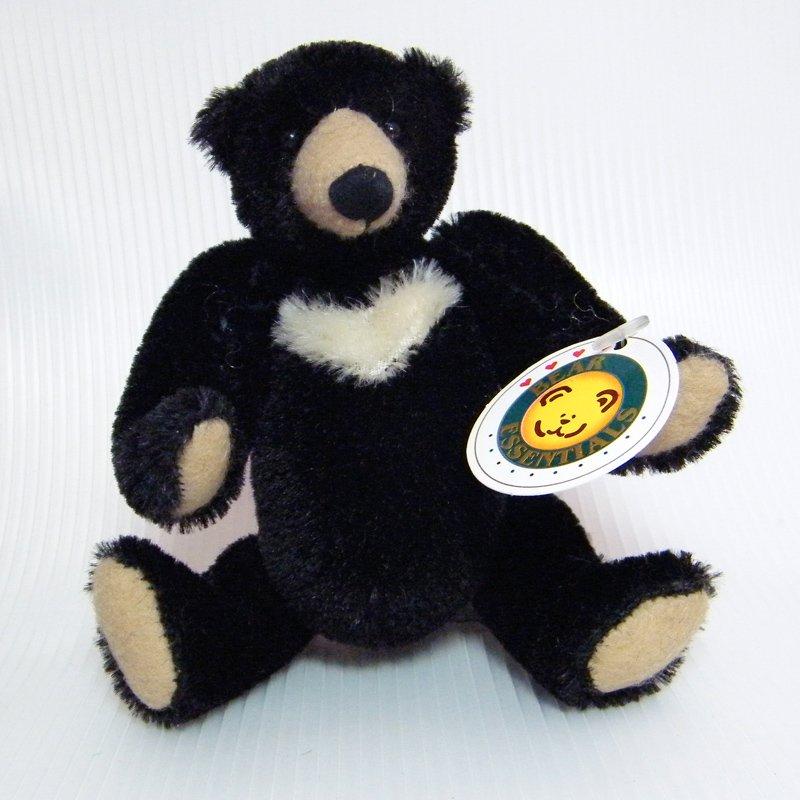 """Effanbee Bear Essentials BLACKBERRY 5"""" Mohair Sun Bear Articulated Limbs Effanbee B096"""