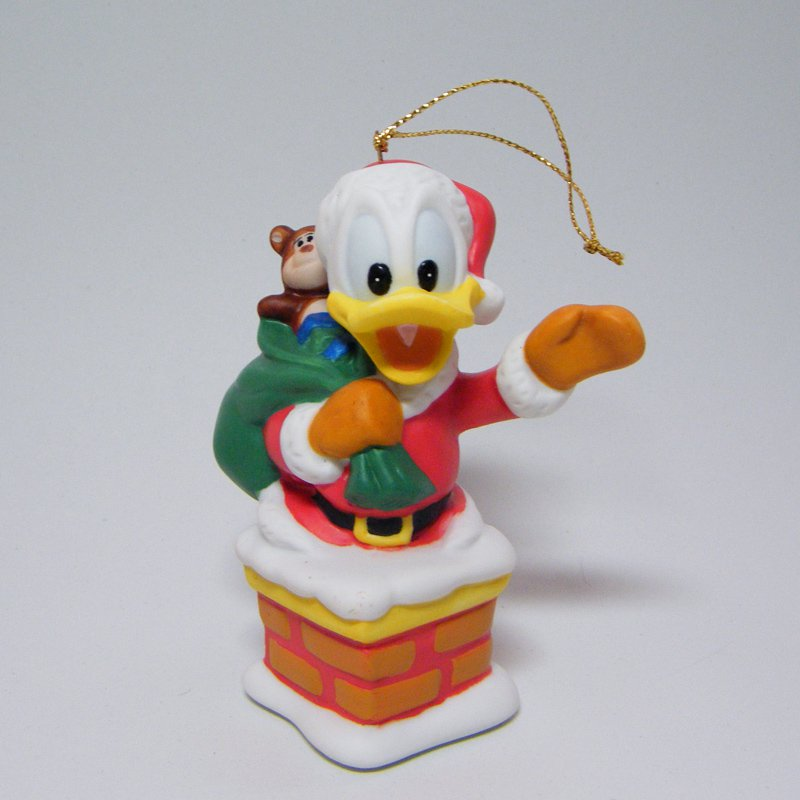 Disney DONALD DUCK Ornament Porcelain Treasures Grolier Collectibles
