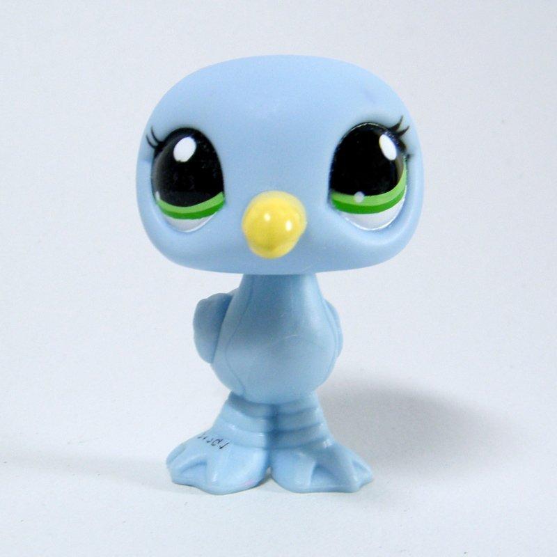Littlest Pet Shop 2591 Seagull Baby Blue Body Blind Bag