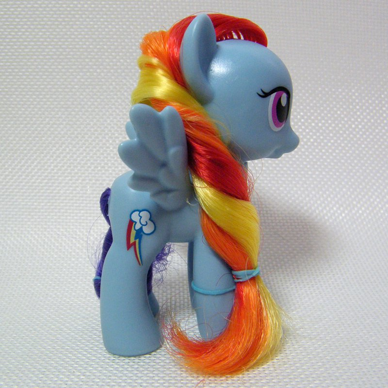 My Little Pony G4 FiM RAINBOW DASH Blue Pegasus Single
