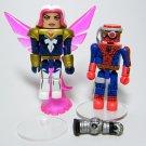 Marvel Minimates CYBORG SPIDER-MAN & SONGBIRD Series 50 Loose (complete)