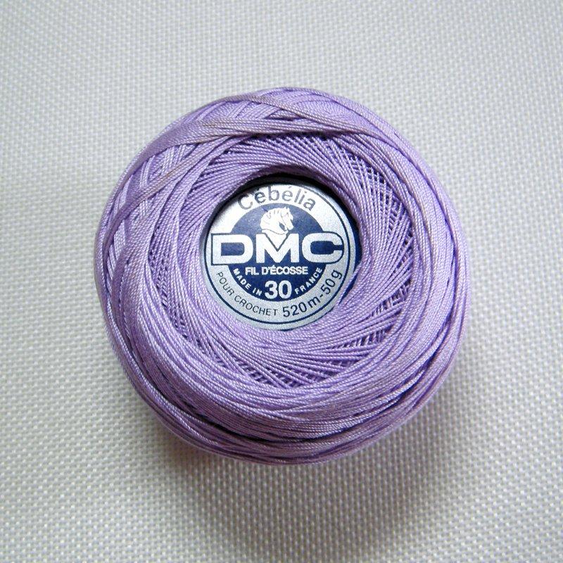 Dmc Cebelia 210 Sz30 Lavender Crochet Cotton Size 30 520m 50g Lot 59722