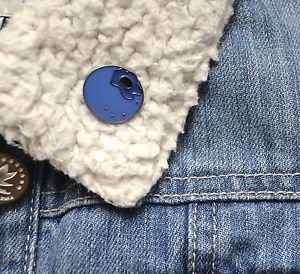 Blueberry enamel pin - kawaii trendy enamel blueberry pin badge brooch