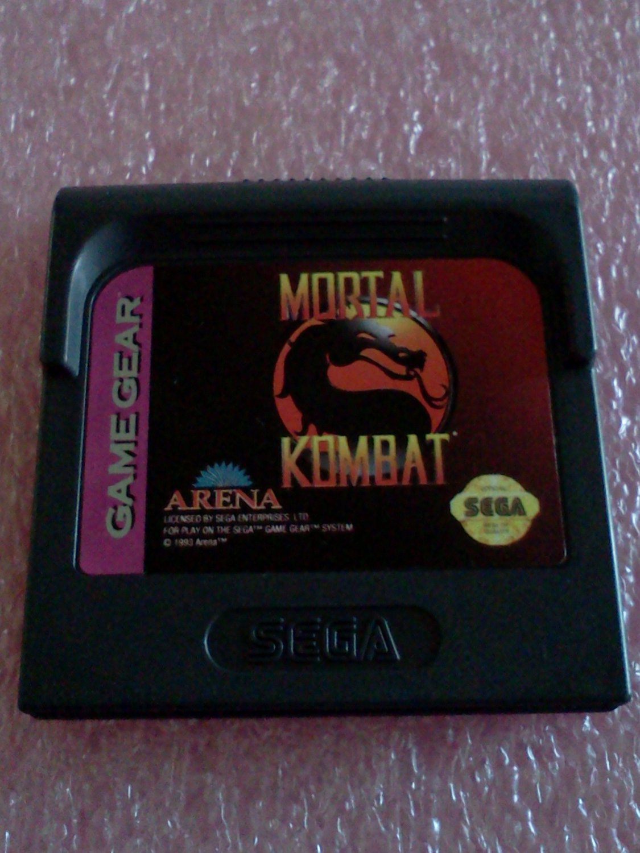 Mortal Kombat Sega Game Gear, 1992**FREE US Shipping**