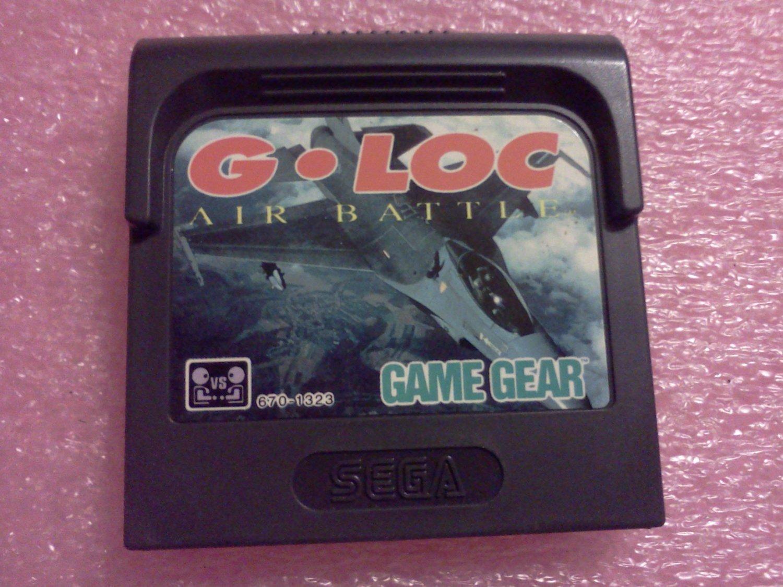 G-LOC: Air Battle Sega Game Gear, 1991**FREE US Shipping**