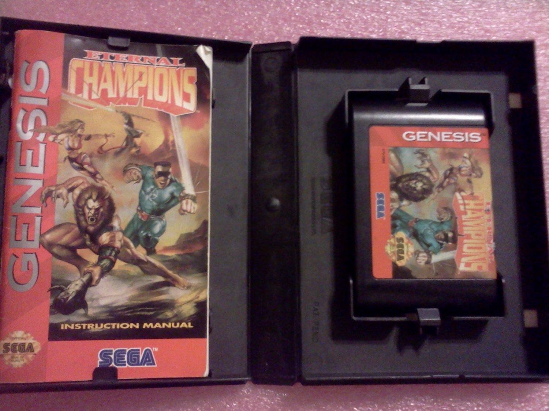 Eternal Champions Sega Genesis, 1993**FREE US Shipping**