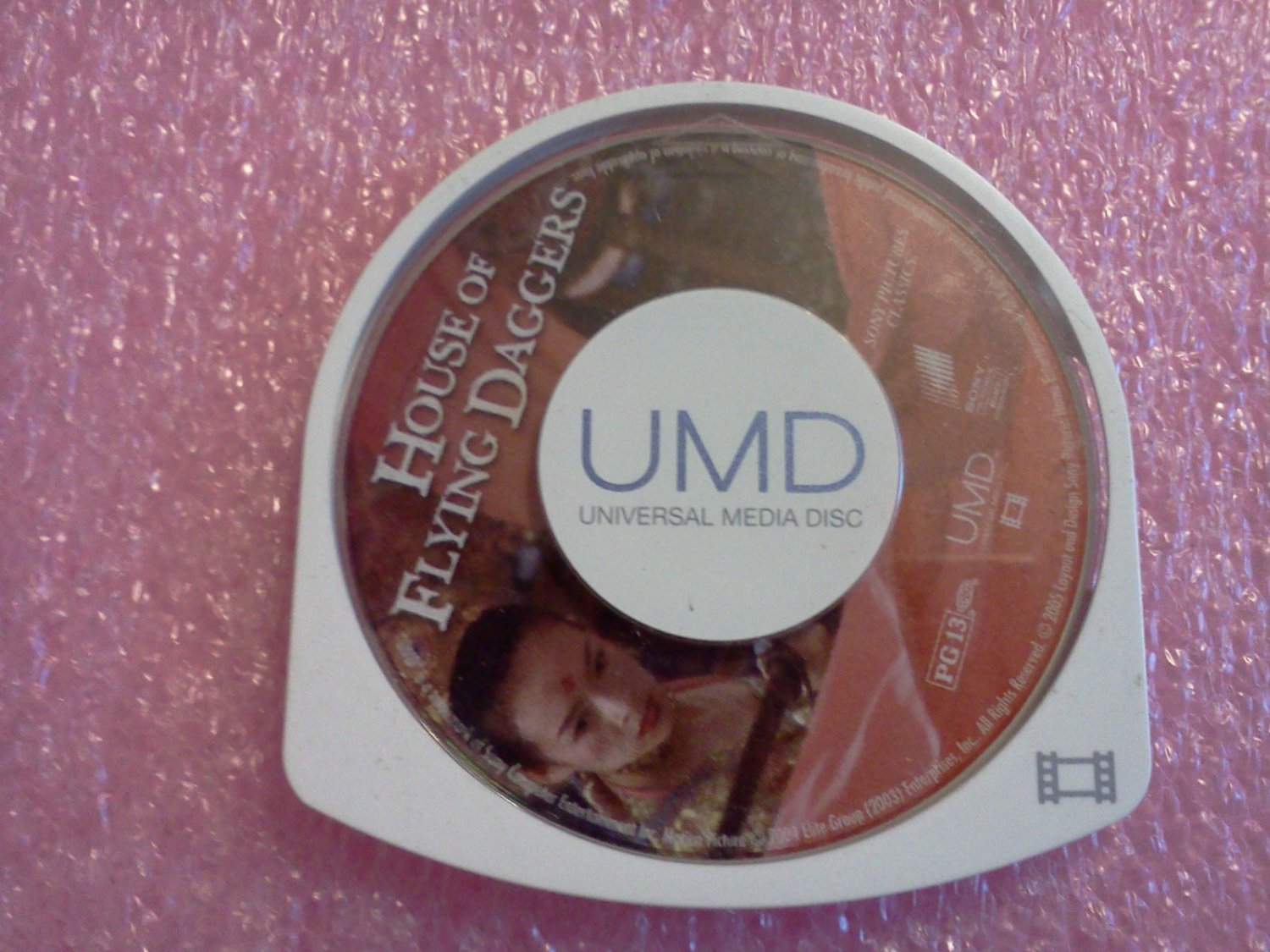 House of Flying Daggers (UMD, 2005, Universal Media Disc) for PSP**FREE US Shipping**