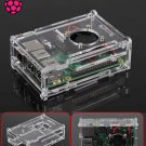 Clear Transparent Arcylic Case Enclosure Box Shell for Raspberry Pi 2 / 3 / B+    FREE Shipping