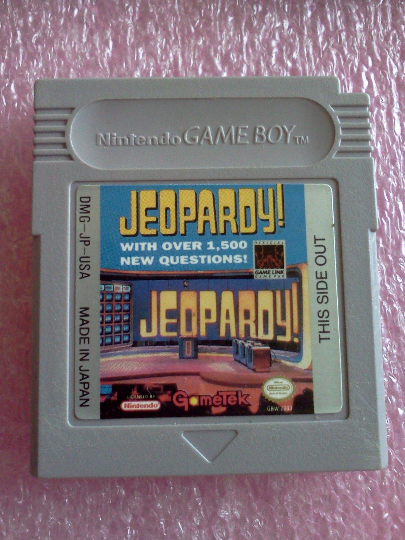 Jeopardy (Nintendo Game Boy, 1991)