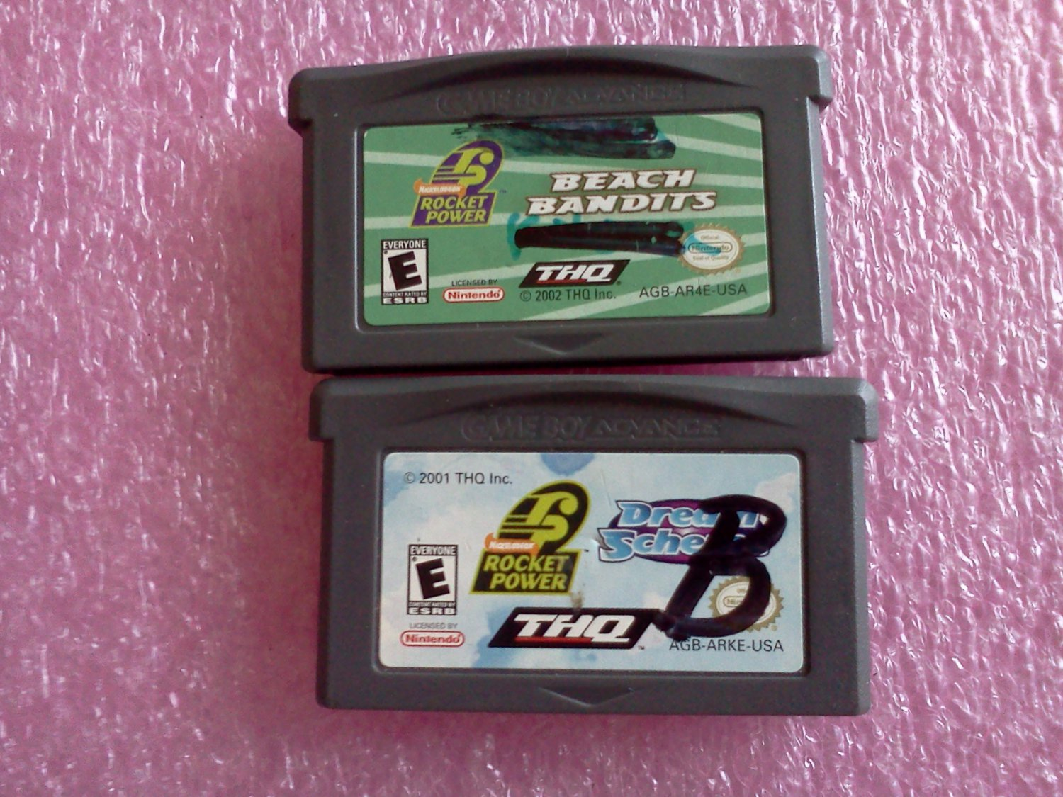 Rocket Power: Dream Scheme & Rocket Power: Beach Bandits (Nintendo Game Boy Advance, 2002)