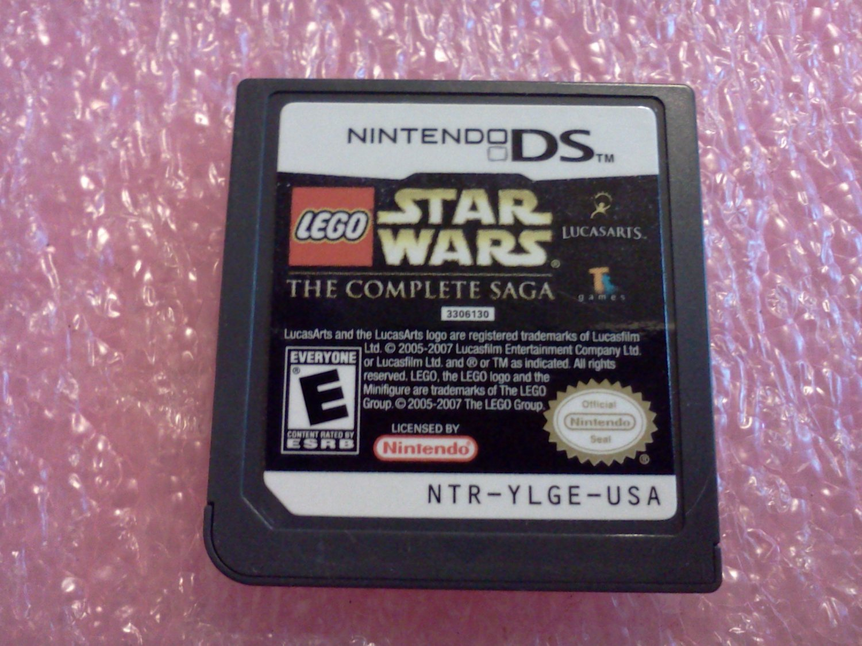 LEGO Star Wars: The Complete Saga (Nintendo DS, 2007)
