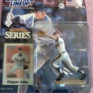 CHIPPER JONES EXTENDED SERIES 2000 KENNER STARTING LINEUP FIGURE--SEALED