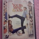 YOURS, MINE, AND OURS (DVD) Dennis Quaid, Rene Russo   NEW