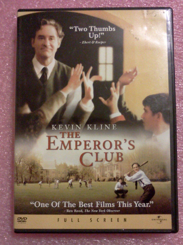 The Emperor's Club (DVD, 2003, Full Frame)