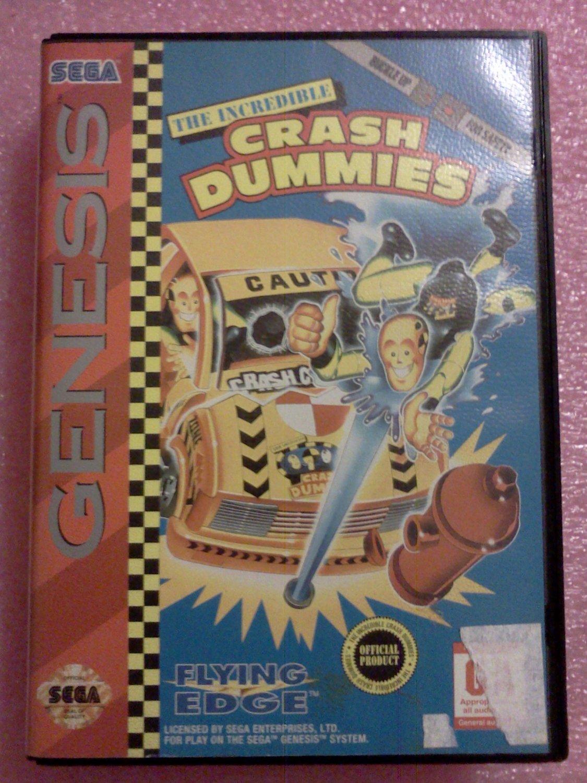 Incredible Crash Dummies (Sega Genesis, 1993)