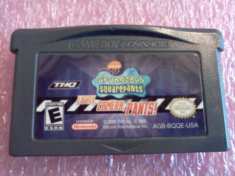 SpongeBob SquarePants: Lights, Camera, Pants (Nintendo Game Boy Advance, 2005)