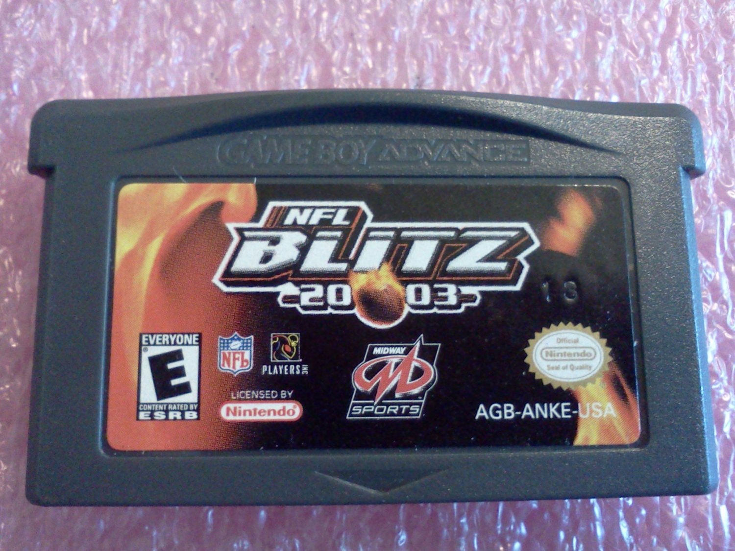NFL Blitz 2003 (Nintendo Game Boy Advance, 2002)
