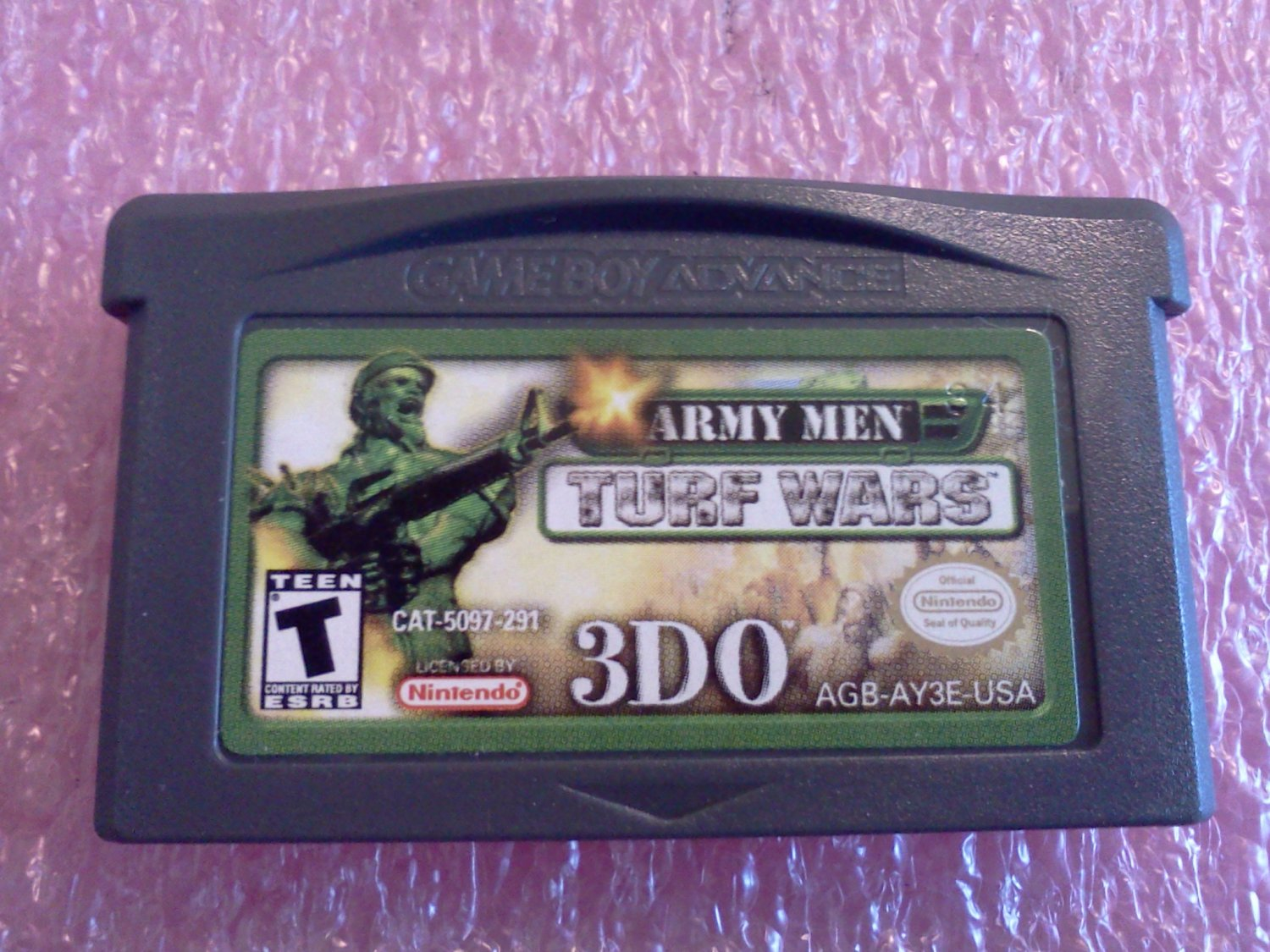 Army Men: Turf Wars (Nintendo Game Boy Advance, 2002)
