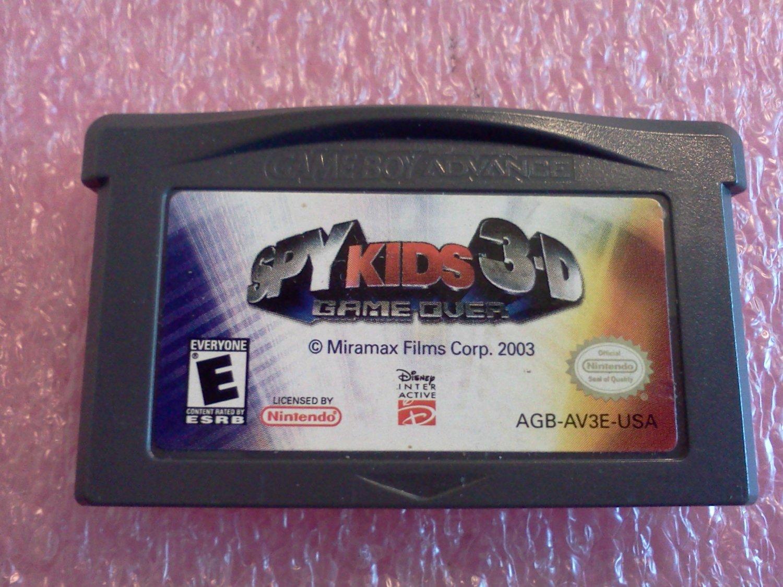 Spy Kids 3D: Game Over (Nintendo Game Boy Advance, 2004)