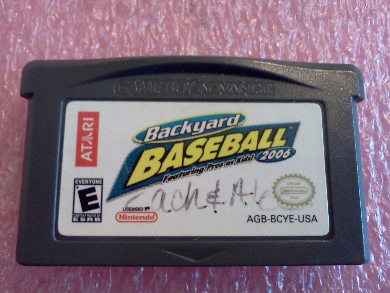 Backyard Baseball 2006 (Nintendo Game Boy Advance, 2005)