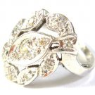 Antique ring with diamonds 0.62 kt