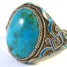 Ring with turquoise from 1890