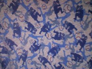 Baseball Blue wrap