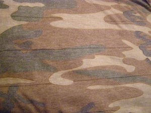 Ribbed Faded Camo wrap