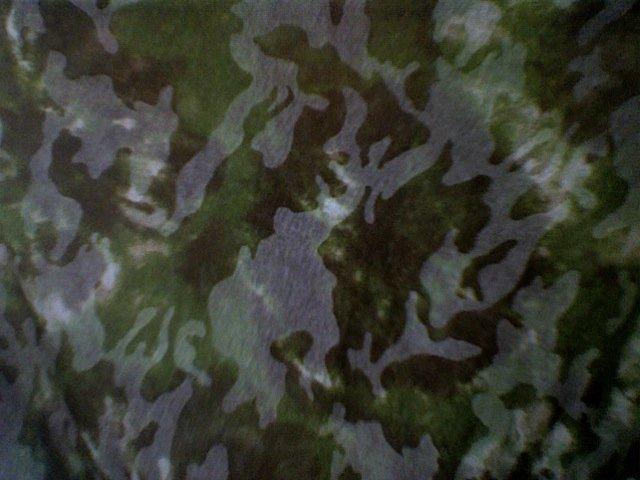 Sheer Camo Cotton wrap