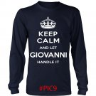 Keep Calm And Let GIOVANNI Handle It
