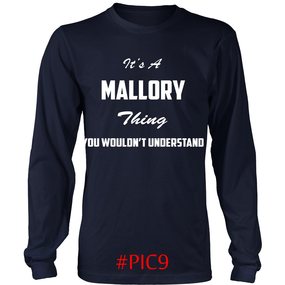 Its MALLORY Thing You Wouldnt Understand