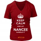 Keep Calm And Let NANCEE Handle It
