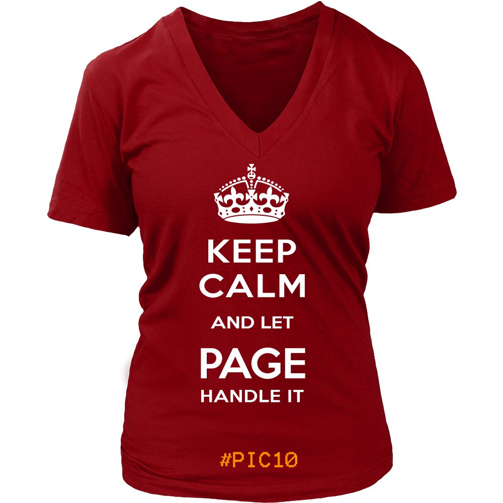 Keep Calm And Let PAGE Handle It