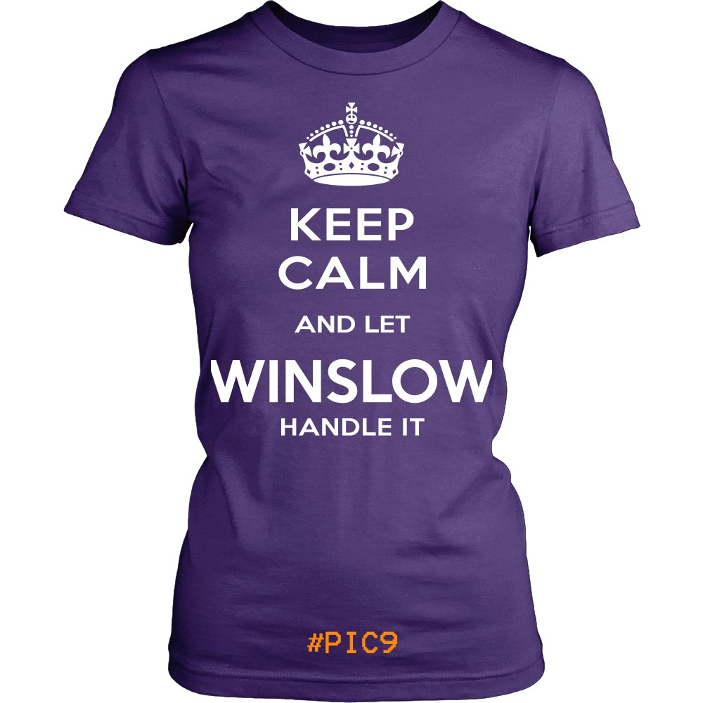 Keep Calm And Let WINSLOW Handle It