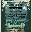 Lake Tahoe Wedding Invitation & RSVP
