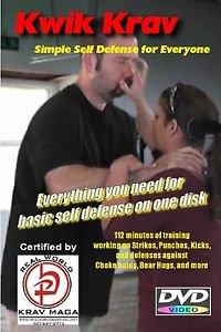 """SIMPLE SELF-DEFENSE"" Everything you need to know on one DVD, Krav Maga Training"