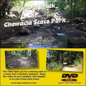 """""""NORTH ALABAMA TRAIL WALK"""" great way to exercise on a treadmill or stairstepper"""