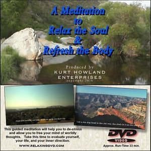 Guided Meditation to Relax the Soul and Refresh the Body DVD